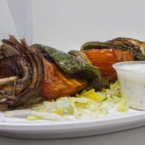 Veggie Kabob | I Heart Gyro