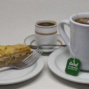 Espresso, Tea & Baklava | I Heart Gyro